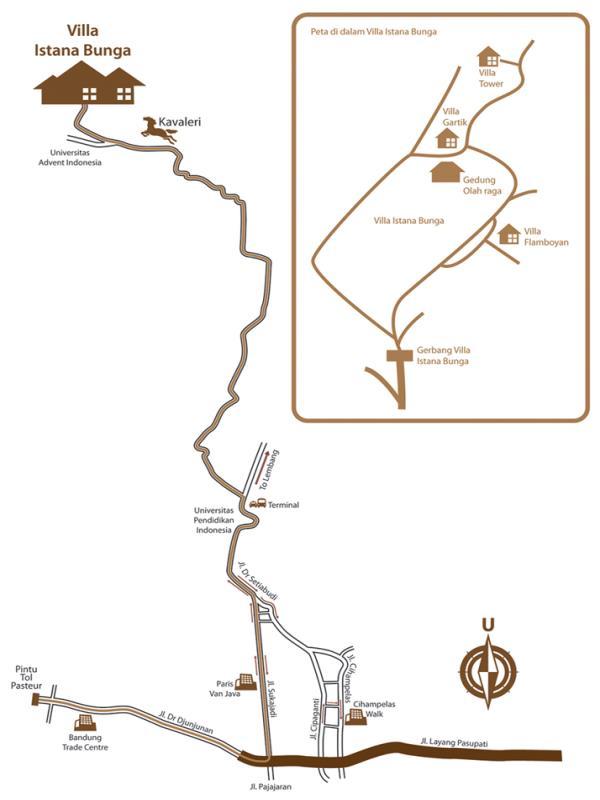maps villa gartik